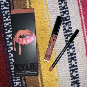 "Kylie Lip Kit ""Candy K"""